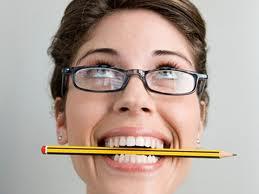 pencil smile